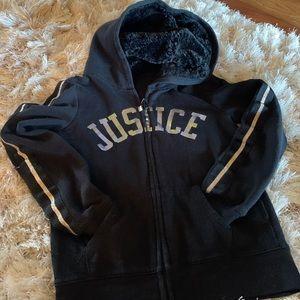 Justice girls Hoodie 🖤